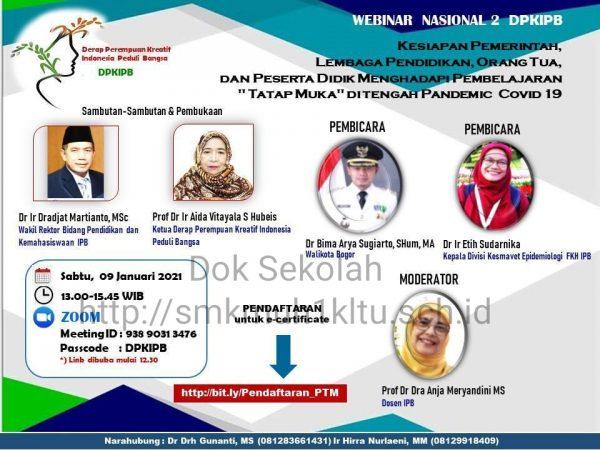Webinar Magister Administrasi Pendidikan