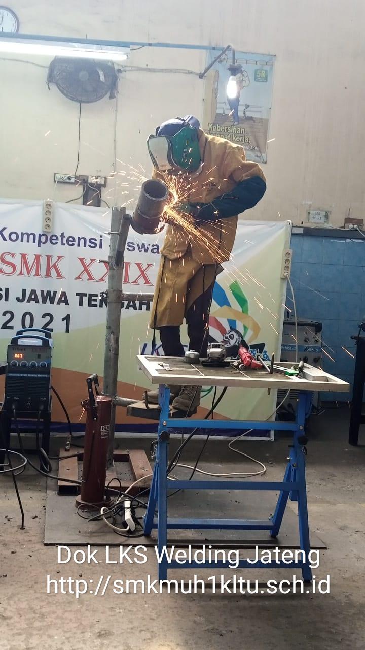 LKS Welding TK Propinsi di Klaten