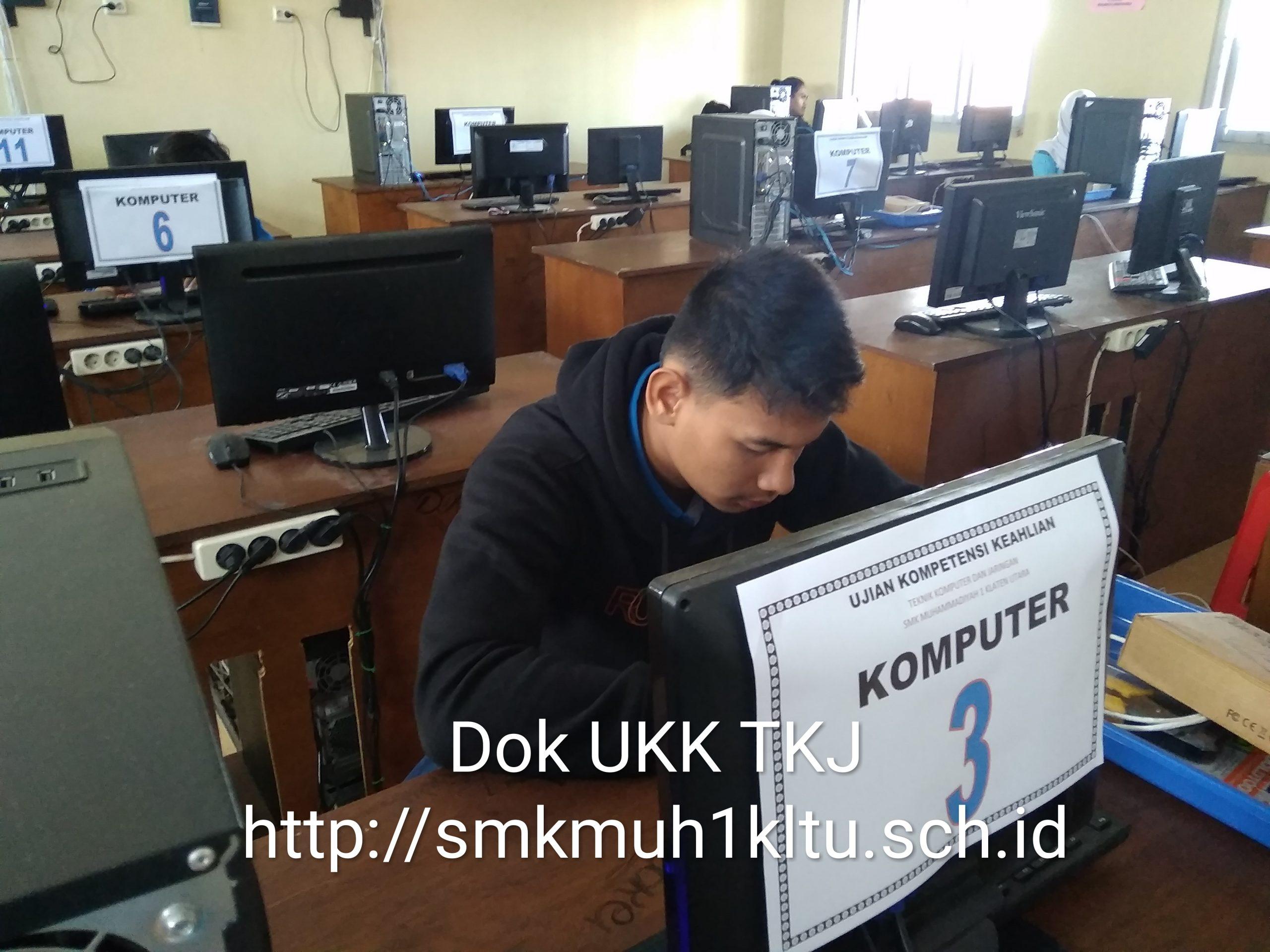 UKK TKJ SMK Muh 1 Klaten Utara
